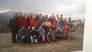 Asistentes al I Seminario de ENP y Deportes de Montaña