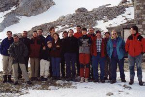 Asistntes a la firma del Acuerdo sobre Refugios de Montaña